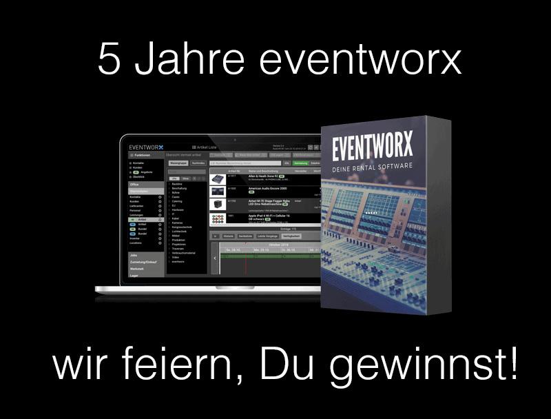 eventworx Gewinnspiel